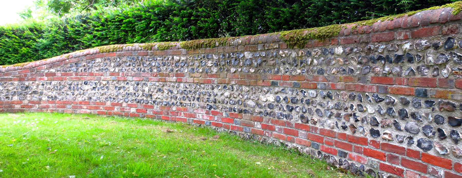 snapped retaining wall - offam