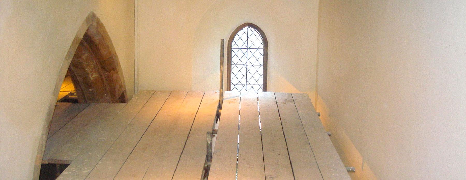lime render, st.julians de buci church
